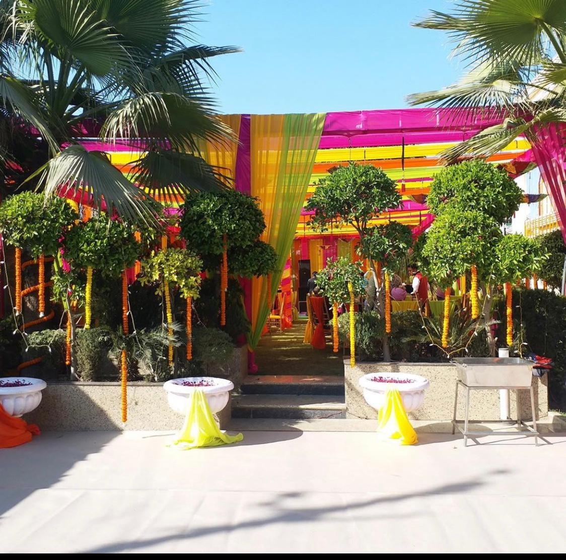 Wedding Entrance Decor in Delhi India